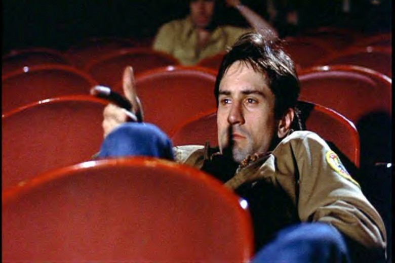 Travis Bickle goes to the movies