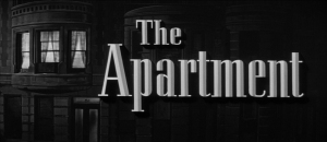 The Apartment Title Card