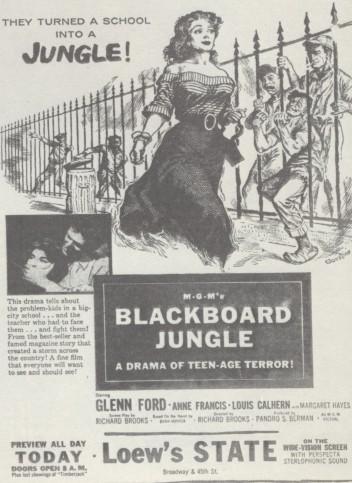 Ad - Blackborad Jungle